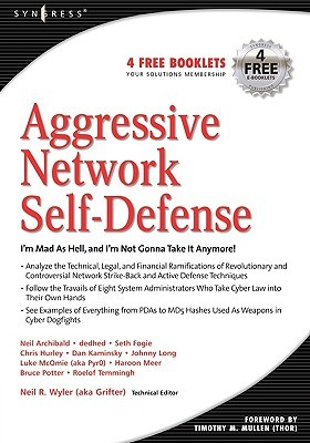 Aggressive Network Self-Defense