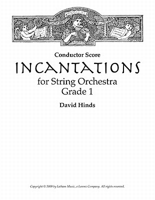 Incantations for String Orchestra - Score