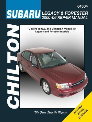 Subaru Legacy & Forester 2000 06