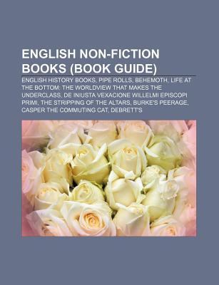 English Non-Fiction Books (Book Guide): English History Books, Pipe Rolls, Behemoth