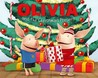 Olivia and the Christmas Present by Farrah McDoogle