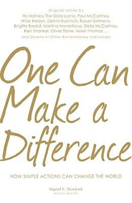 One Can Make a Difference by Ingrid Newkirk