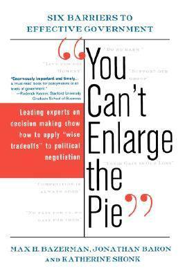 """You Can't Enlarge the Pie"""