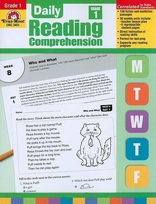 Daily Reading Comprehension, Grade 1 Te