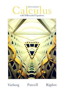 Calculus with Differential Equations by Dale E. Varberg