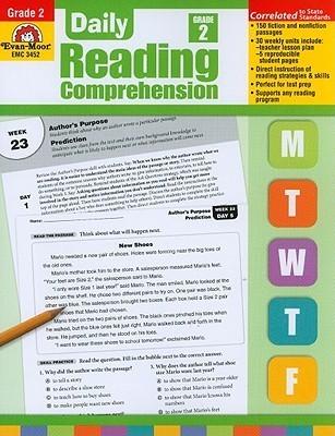 Daily Reading Comprehension, Grade 2 Te