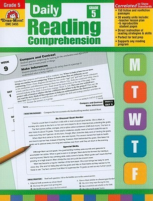 Daily Reading Comprehension, Grade 5 Te