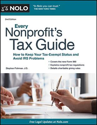 every nonprofit s tax guide how to keep your tax exempt status and rh goodreads com Non-Profit Tax ID Non-Profit Tax Exemption Form