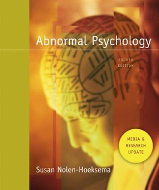 abnormal psychology by susan nolen hoeksema