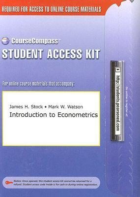 Introduction to Econometrics CourseCompass Student Access Kit
