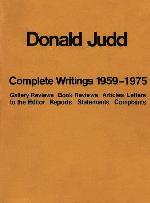 Complete Writings 1959 - 1975