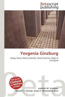 Yevgenia Ginzburg by NOT A BOOK