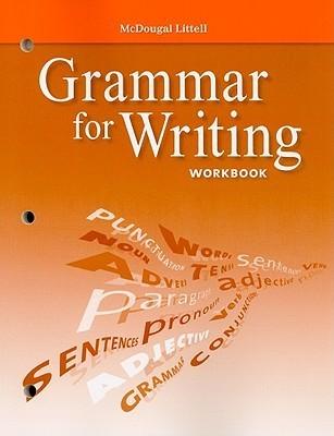 Grammar for Writing Workbook, Grade 9