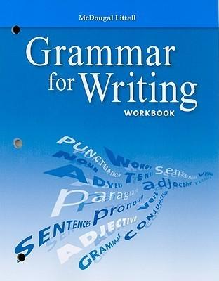 Grammar for Writing Workbook, Grade 10