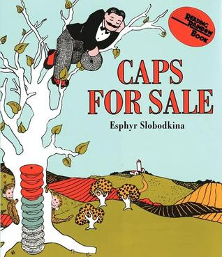 Caps for Sale Board Book by Esphyr Slobodkina