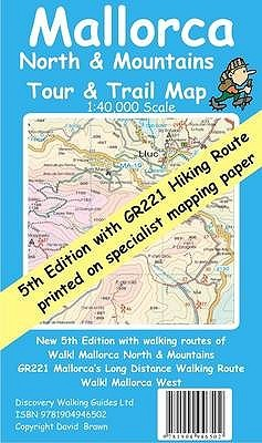 Mallorca North And Mountains Tour And Trail Map