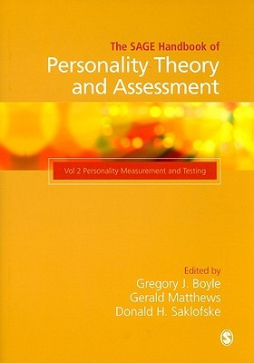 The Sage Handbook of Personality Measurement and Assessment