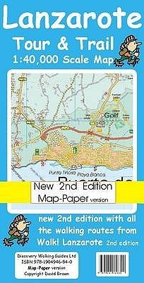 Lanzarote Tour And Trail Map