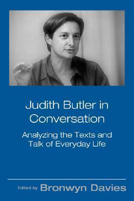 Judith Butler in Conversation by Bronwyn Davies