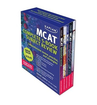 Kaplan MCAT Review: Complete 5-Book Series