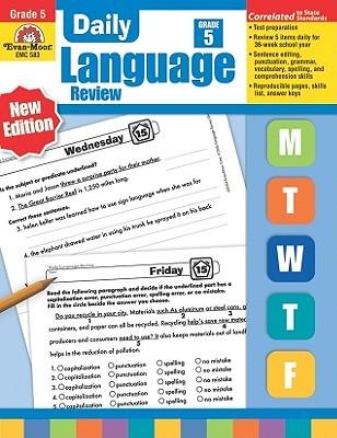Daily Language Review: Grade 5