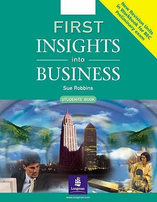 First insights into Business Student's Book New Edition