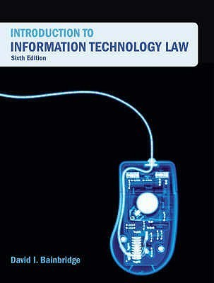 Introduction to Information Technology Law
