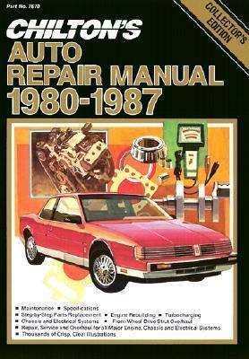 Chilton's Auto Repair Manual, 1980 87   Perennial Edition