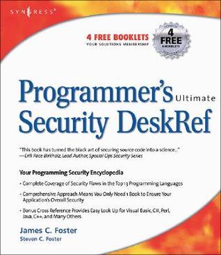 Programmer's Ultimate Security DeskRef
