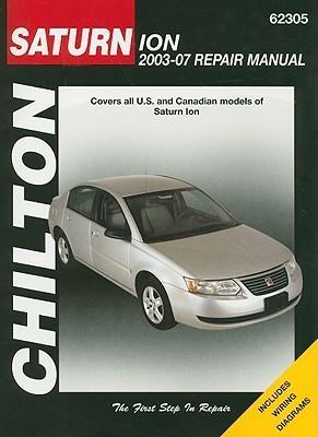 Saturn Ion: 2003 through 2007
