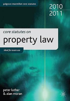Core Statutes on Property Law