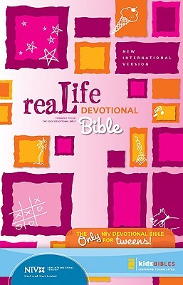 Holy Bible: ReaLife Devotional Bible for Kids: New International Version, Pink