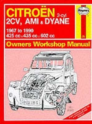 Citroen 2 Cylinder, 2CV Ami and Dyane 1967-90 Owner's Workshop Manual