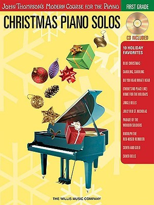 Christmas Piano Solos: First Grade [With CD]