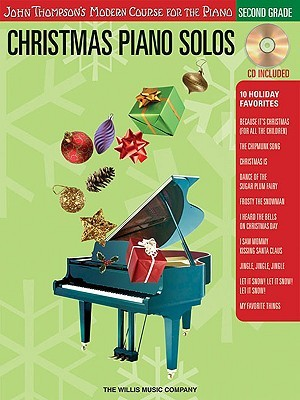 Christmas Piano Solos, Second Grade [With CD]