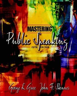 Mastering Public Speaking with CD-ROM (5th Edition)