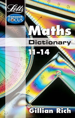 Maths Dictionary Age 11-14 (Letts Key Stage 3 Subject Dictionaries)