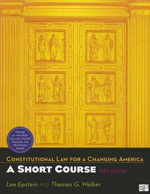 Constitutional Law for a Changing America: A Short Course