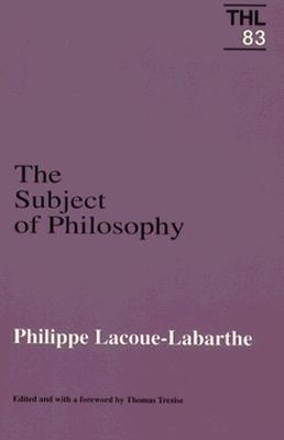 The Subject Of Philosophy