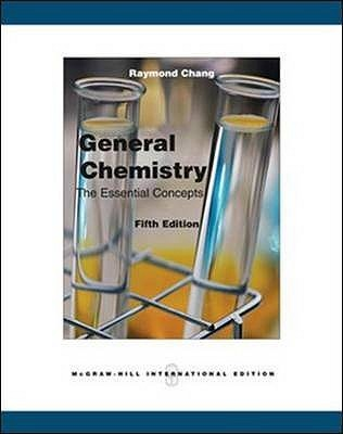 General chemistry the essential concepts by raymond chang fandeluxe Images