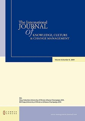 The International Journal of Knowledge, Culture and Change Management: Volume 9, Number 9
