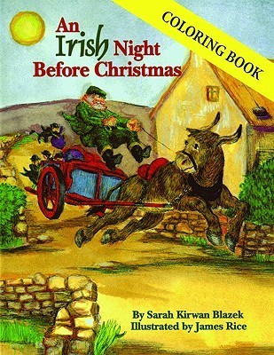 Irish Night Before Christmas Coloring Book, An (The Night Before Christmas Series)