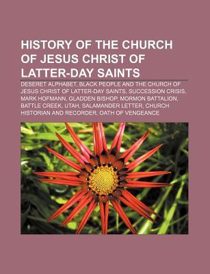 History of the Church of Jesus Christ of Latter-Day Saints: Deseret Alphabet, Black People and the Church of Jesus Christ of Latter-Day Saints