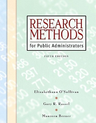 Research Methods for Public Administrators [With CDROM]