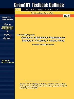 Outlines & Highlights for Psychology By Ciccarelli & White