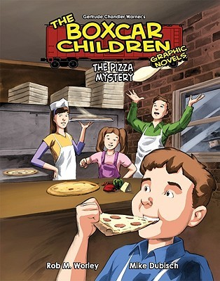 The Pizza Mystery (The Boxcar Children Graphic Novels, #11)