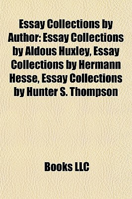 essay collections by author essay collections by aldous huxley 8520411