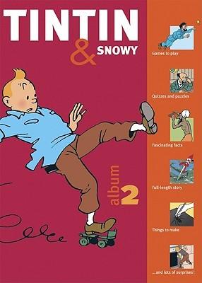 Tintin & Snowy Activity Book 2