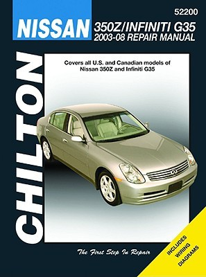 Nissan 350Z & Infiniti G35 2003-08 Repair Manual