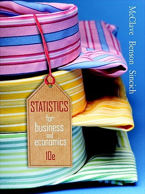 Statistics for Business and Economics [with Student Solutions Manual & Microsoft Excel Manual]